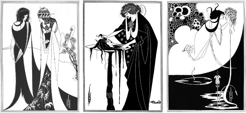 Aubrey Beardsley, illustrations for 'Salome' (London: 1894, Elkin Mathews and John Lane)