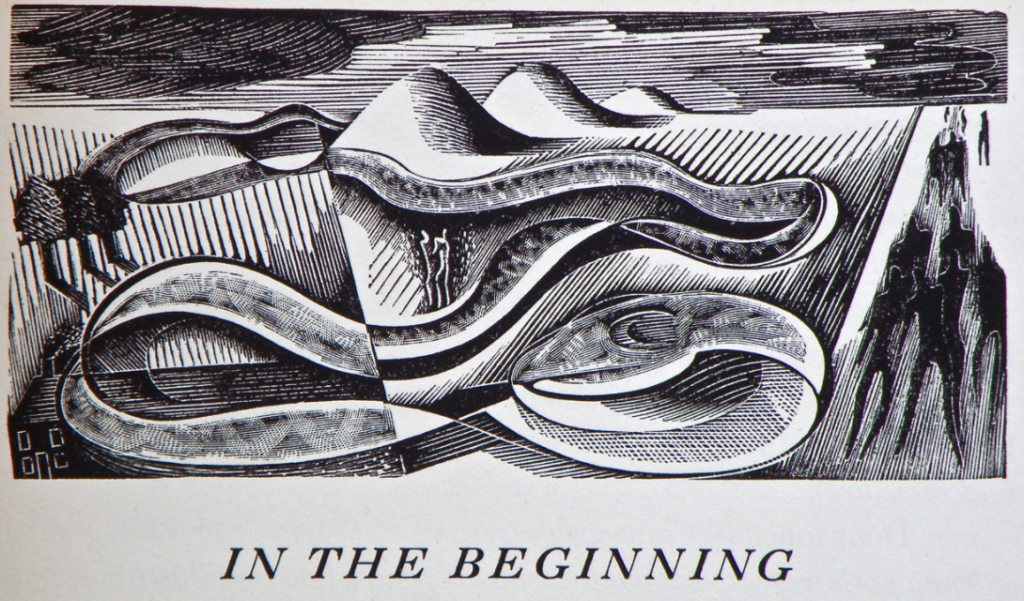 John Farleigh, woodcut for Act I (New York: Limited Editions Club, 1939)